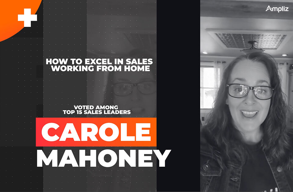 work from home with Carole Mahoney