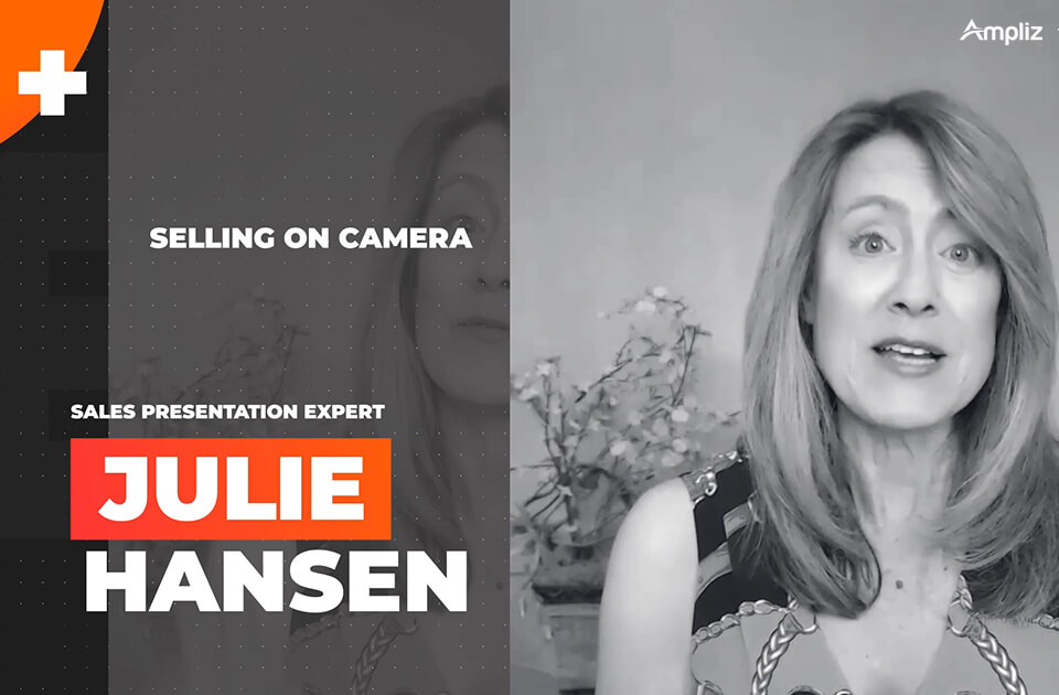 Sellingon camera with Julie Hansen
