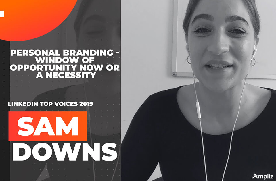personal branding with sam downs